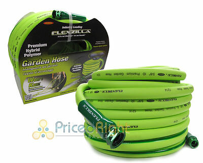 Legacy HFZG550YW Flexzilla 5/8 X 50 Ft Garden Water Hose 3/4 GHT Standard Ends
