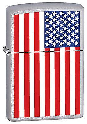 """Zippo """"United States Flag"""" Lighter - Limited Production Item"""