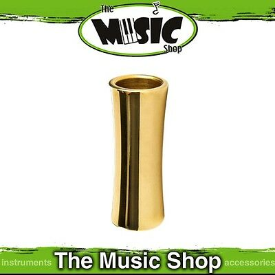 Brand New Jim Dunlop 227 Brass Concave Medium Guitar Slide - J227