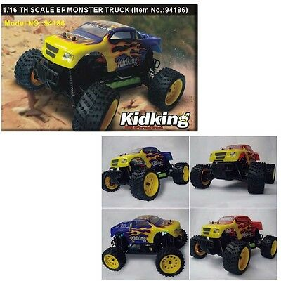 HSP 94186 1/16th Scale Electric Powered Off Road Monster Truck Spare Parts (1)
