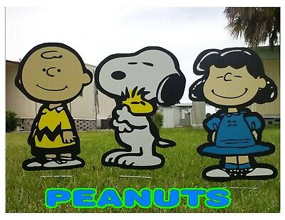 SNOOPY Lawn COMBO Decorations