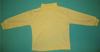 NEW unisex Skivvy perfect for school Lemon size 5 to 12