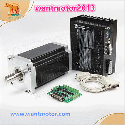 Good!US free wantai1Axis Nema 42 Stepper Motor 3256oz-in&Driver CNC Engrave Mill