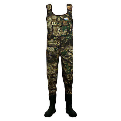 Dirt Boot Camo Neoprene Chest Waders 100% Waterproof Coarse Fishing Muck Wader
