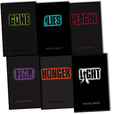 Gone Series Michael Grant 6 Books Set Plague, Lies, Gone, Hunger Pack, Fear New
