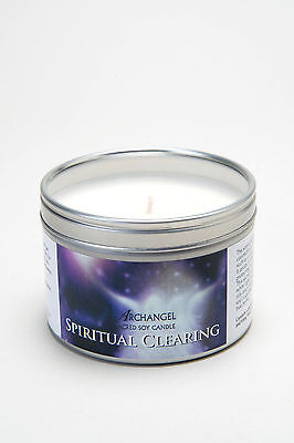 Spiritual Clearing Archangel Aromatherapy Sacred Soy Candle