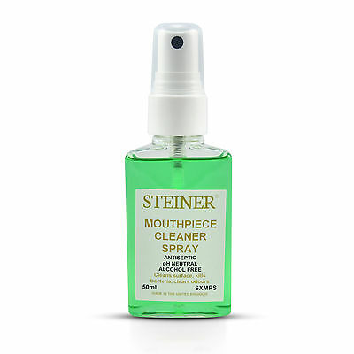 MOUTHPIECE CLEANER SPRAY 50ml BY STEINER MUSIC
