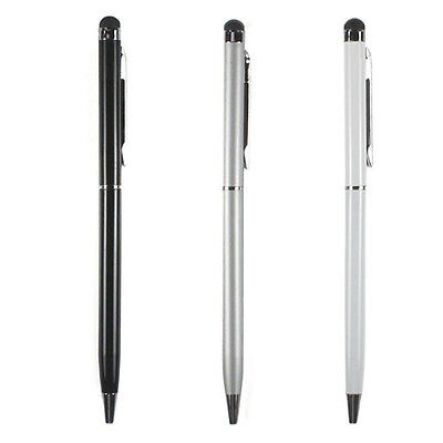 3X 2-in-1 Touch Screen Stylus + Ballpoint Pen For iPad iPhone Smartphone Tablet