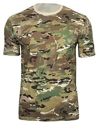 Multitarn Pattern Camo Cotton ARMY T-SHIRT - All Sizes Camouflage Military Top