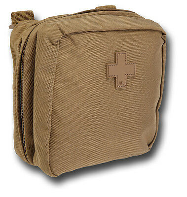 """5.11 MED MEDICS POUCH, 6"""" x 6"""", BLACK OR BROWN [72546]"""