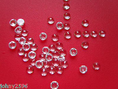 4mm white topaz cabochons rose cut £2.50p each.
