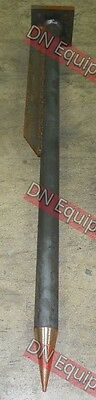 "48"" HD Hay Spear Welded into mounting Plate"