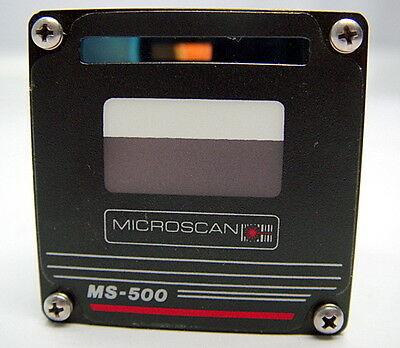 "Microscan MS-500 FL 2.4"" Laser Barcode Scanner Scan Head, MS500, 99-500005-01"