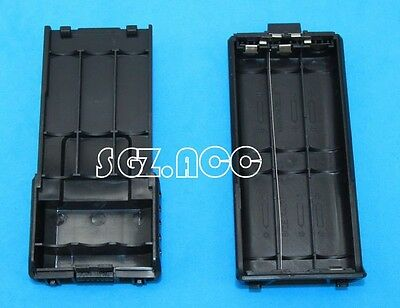 Extended Battery Case For Baofeng UV5R BF-F8 BF-F9 Dual Band Radio US SELLER