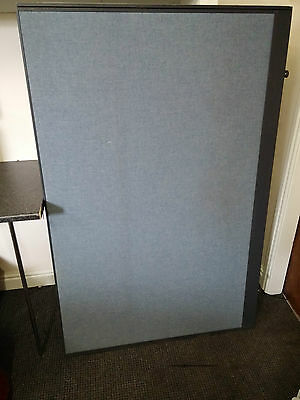 light blue office desk partition divider used no clamps 160x 104x blue curved office desk dividers