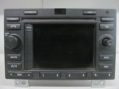 RADIO RECEIVER 6L1T-18K931-AB DISPLAY SCREEN MONITOR 2006 FORD EXPEDITION