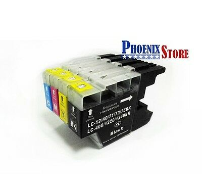 10 pcs Compatible Ink Cartridge LC 71 73 75 1220 1240 1280 Any Color for Brother
