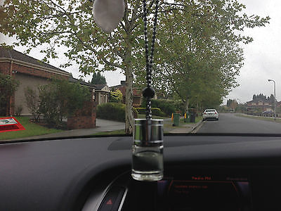 Bulk x 3 miniature Car diffusers long lasting aroma & 3 free refills 30ml each
