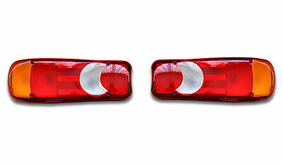 2X REAR TAIL Lights Truck fit RENAULT DAF IVECO SCANIA MAN VOLVO
