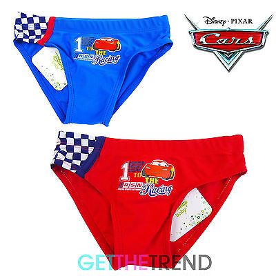Boys Toddlers Baby Cars Mcqueen Swimming Summer Waterproof Briefs Underwear
