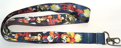 Mobile Phone/identity Card Lanyard Neck Strap Mickey Goofy Donald Duck & Pluto