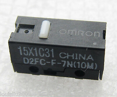 2pcs NEW OMRON Micro Switch D2FC-F-7N(10M) For Gamers Usage Mouse