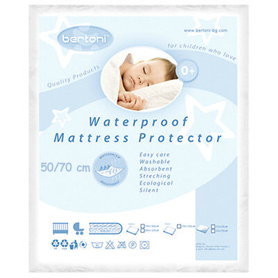 LORELLI Waterproof Baby Mattress Protector 50/70 washable cover cot bed cradle