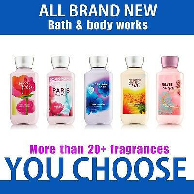 New & Fresh Bath and body works body lotion 8 oz 263ml you choose mix & match