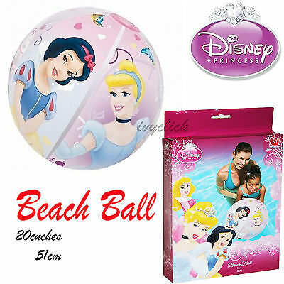 Disney Princess 20 inch Beach Ball INFLATABLE Swimming Pool Holiday 51cm Summer