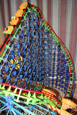 Intermediate manual for WOODEN KNEX ROLLER COASTER