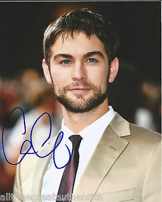 """CHACE CRAWFORD HAND SIGNED AUTHENTIC GOSSIP GIRL """"NATE"""" 8X10 PHOTO F w/COA ACTOR"""