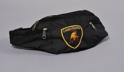 LAMBORGHINI WAIST FANNY PACK ADJUSTABLE BELLY BUM BAG flag gallardo muercielago