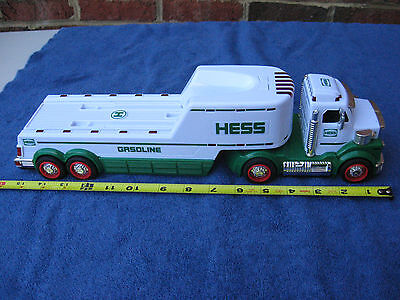 Hess Gasoline Semi Tractor Trailer With Lights