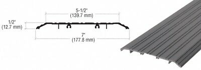 "Dark Bronze 7"" x 1/2"" Saddle Aluminum Threshold - 36-1/2"" in Length"