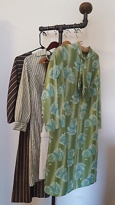 Vintage Lot of Dresses 1960s 70s Day Wear and Career Wear  Size Small and Medium
