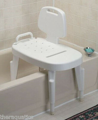 TRANSFER BENCH SHOWER Bathtub Bath Mobility Suction Cups Elderly Special Needs