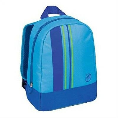 Leap Frog Carry All Backpack ~ Blue LeapFrog LeapPad Leapster Tag