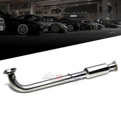For Honda Civic 01-05 Ex Stainless High Flow Downpipe Cat Pipe Exhaust System