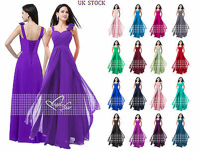 New Formal Long Evening Ball Gown Party Prom Bridesmaid Dress Size 6 - 24