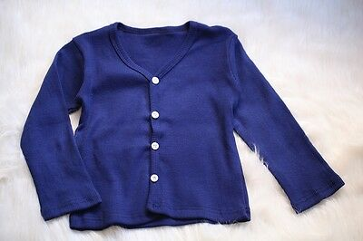NEW Assorted Baby Kids Girls Boys Cotton Cardigan Top Size 0. 2.3.4.5.6