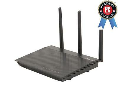 ASUS RT-N66U Dual-Band Wireless-N900 Gigabit Router, DD-WRT Open Source support,