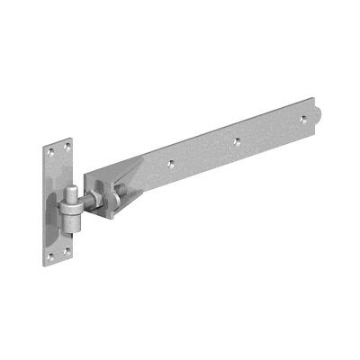 "Adjustable Hook and Band Hinges 18"" (450mm) Galvanised"