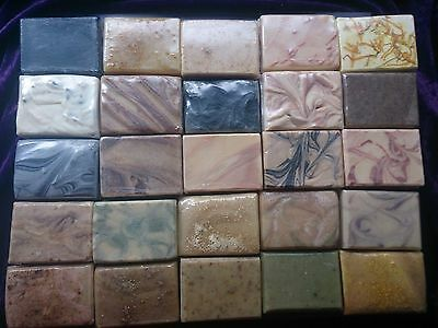 Natural Handmade Soaps/Coconut Milk/Essential Oils/Goat's Milk/MSM/Herbal x 7