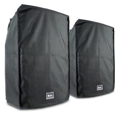 "2x QTX Sound 15"" Water Resistant Speaker Covers Essex"