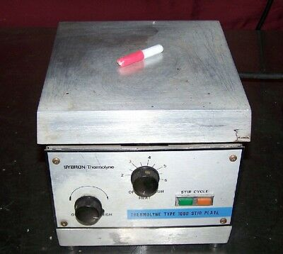 "Thermolyne SPA1025B  Type 1000  6.75 x 6.75"" Aluminum Top Hot Plate Stirrer"