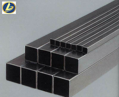 "2 1/4"" x 2 1/4"" x .100"" Hot Rolled Steel Square Tubing, 72"" Long"