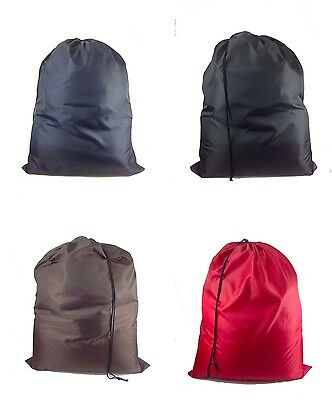 Nylon Laundry Bag Assorted Color Heavy Duty Jumbo Size