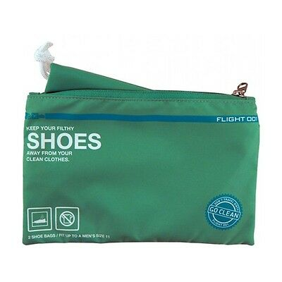 Flight 001 F1 Go Clean Shoes Mint Travel Pouch Storage Packing System Nylon