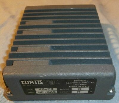 36V 90A Curtis 1235 PMC MultiMode D.C Motor Controller Model 1235-3102 FREE SHIP