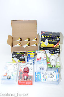LOT OF 31 WHOLESALE LOT OF MIXED LIGHT BULBS